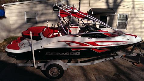sea doo boat models sea doo speedster wake 2007 for sale for 14 999 boats