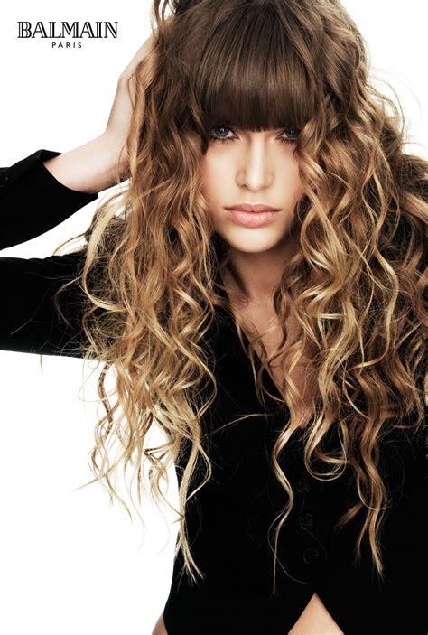 bacomain hair style pics cream hairdressing balmain extensions
