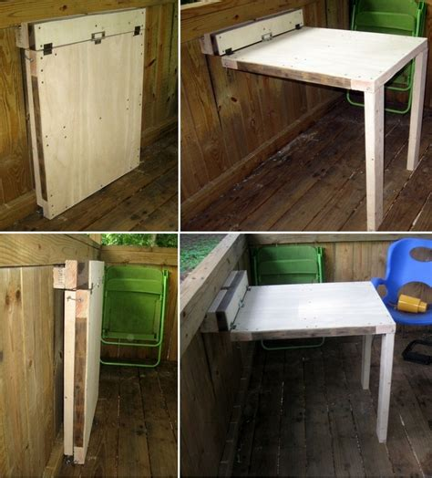 Fold Out Desk Diy 1000 Ideas About Fold Out Desk On Pinterest White Writing Desk Fold Out Table And Desks