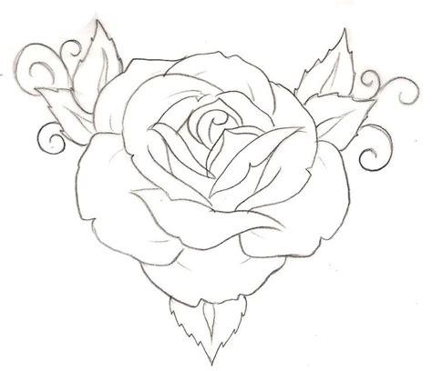 simple rose tattoo designs best 25 rose drawing simple ideas on pinterest rose