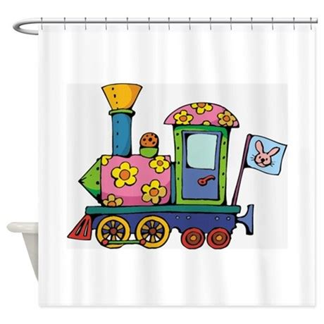 train shower curtain train shower curtain by graphicdream