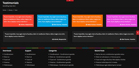 Web Snob Weekly Up Get The From Web Snob by Free Colorsy Html5 Website Template Creative Beacon