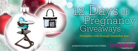 Pregnancy Giveaways - 12 days of pregnancy giveaways 2012 closed