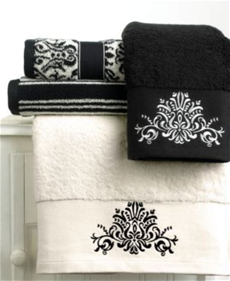 bianca quot black and white quot towel collection bath towels