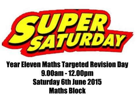 new year 2015 saturday maths non calculator revision year 11 revision access