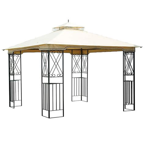 sunjoy marshall 10 ft x 10 ft aim gazebo d gz288pst c