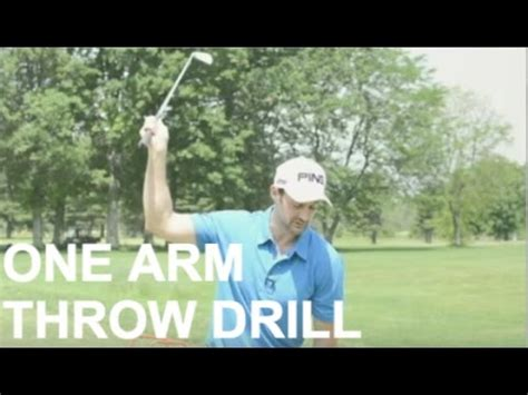 one arm golf swing drill simple golf swing drill for power and accuracy one arm