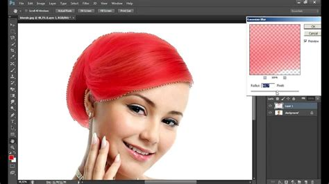 how to change hair colour in photoshop smugg bugg