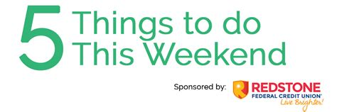 5 Things To Start Your Weekend With by 5 Things To Do This Weekend January 12 Our Valley Events