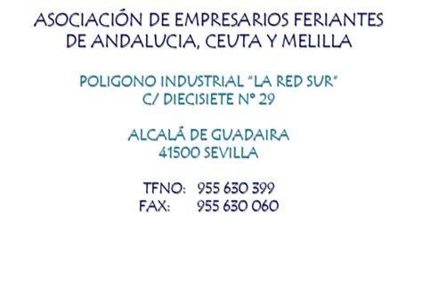asociacion empresarios feriantes andalucia ceuta  melilla asociacion feriantes andalucia