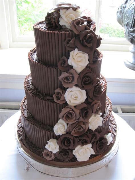 Chocolate Wedding Cakes by Wedding Cake Chocolate Idea In 2017 Wedding