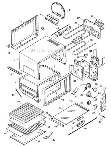 Delonghi Toaster Oven Replacement Parts Delonghi As50u Parts List And Diagram Ereplacementparts Com