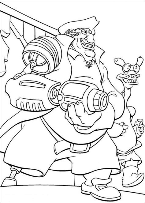 coloring page treasure planet coloring pages 36