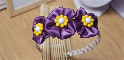 how to make delicate flowers headbands for with