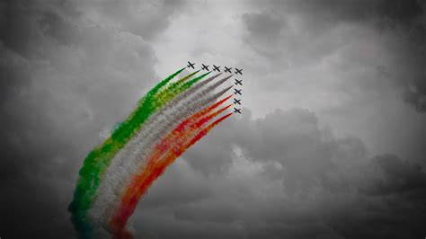 tri color tricolor made of coloured smoke wallpapers and images