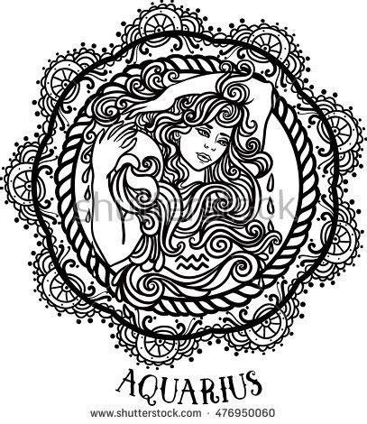 detailed libra in aztec filigree line zentangle style aquarius stock images royalty free images vectors