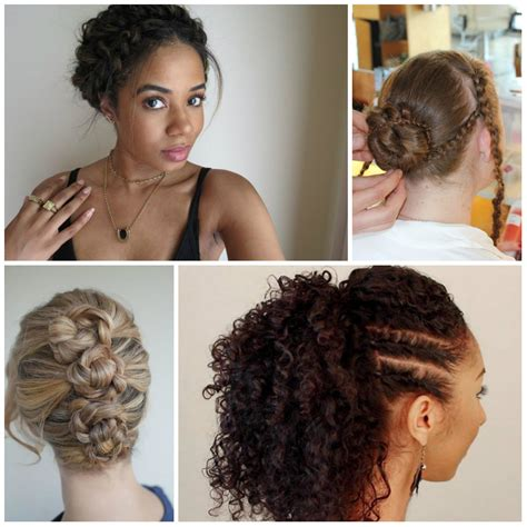 Curls Hairstyles For Hair by Braided Hairstyles For Curly Hair Haircuts And