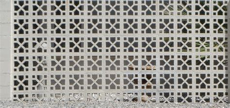 Decorative Concrete Block by Mid Century Modern Wall Screens And Decorative Screen