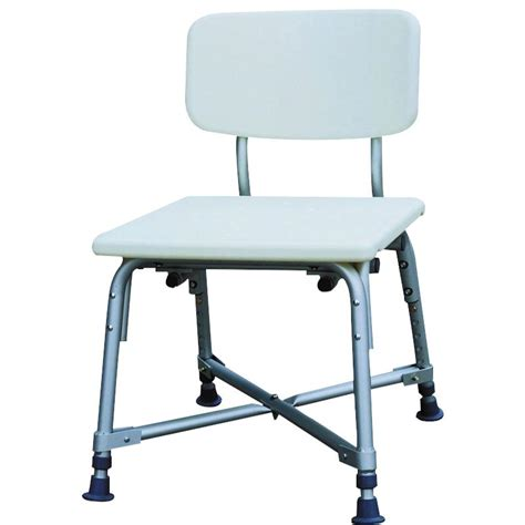 shower chairs and benches essential medical endurance hd heavy duty white shower