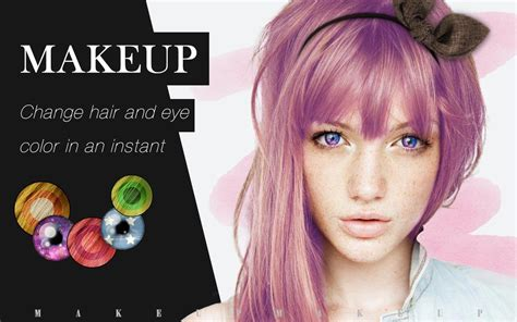makeover app hair color makeup cam color cosmetic android apps on google play
