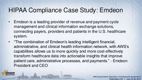 dc health benefit exchange case study amazon web services aws security privacy using aws to meet requirements for