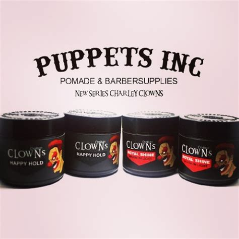 Pomade Clowns puppets pomade bandung september 2016