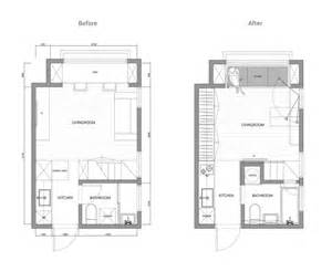design house layout small space simplicity and abstraction