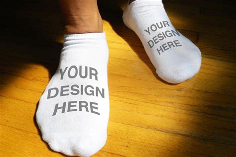 personalized socks custom printed and personalized socks for no show socks