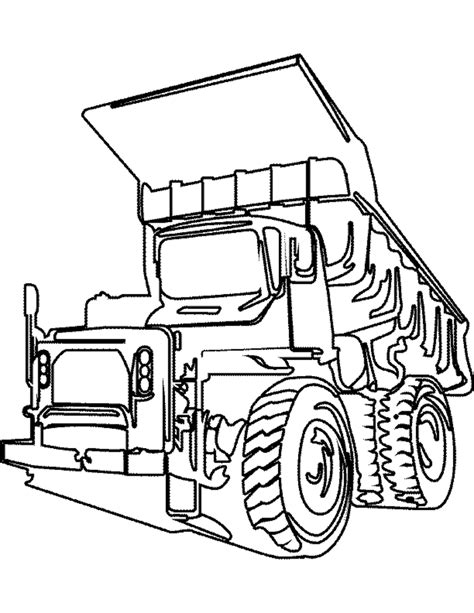 Big Truck Coloring Pages Coloring Home Big Trucks Coloring Pages