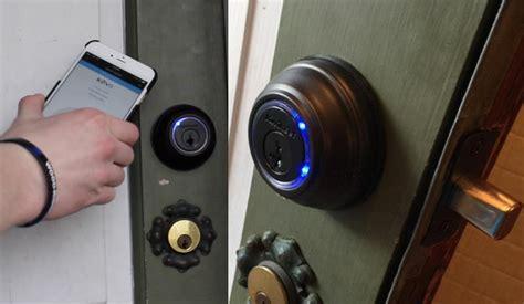 Kwikset Kevo Smart Lock Unboxing Install Review Front Door Lock Iphone