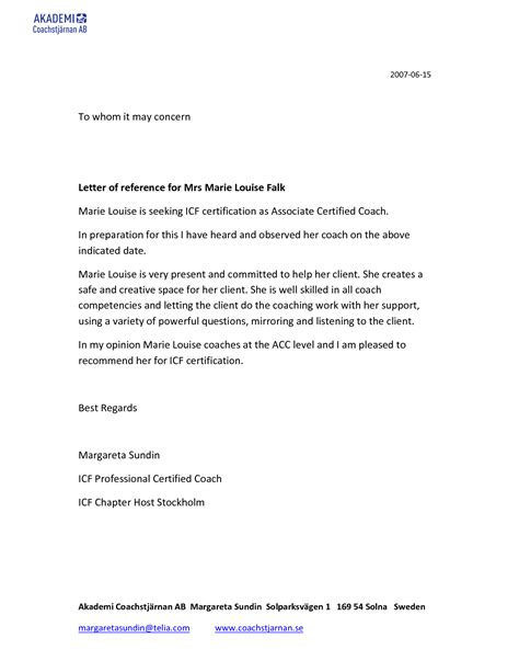 Service Letter To Whom It May Concern Whom To Concern Letter Format Best Template Collection