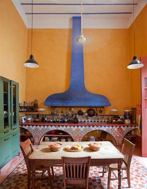 Colorful Kitchen Backsplash mexico s suddenly stylish colonial coast 1stdibs