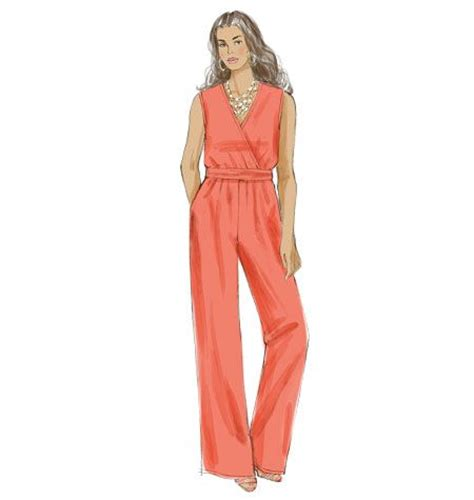 pinterest jumpsuit pattern new from khaliah ali for mccall s this fantastic jumpsuit