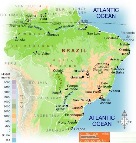 brazil physical map brazil carnival pictures brazil my country