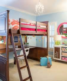 Bunk Bed With Open Bottom Mixing Work With Pleasure Loft Beds With Desks Underneath
