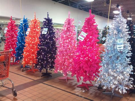houston garden center christmas trees garden ridge has every color of tree you can imagine yelp