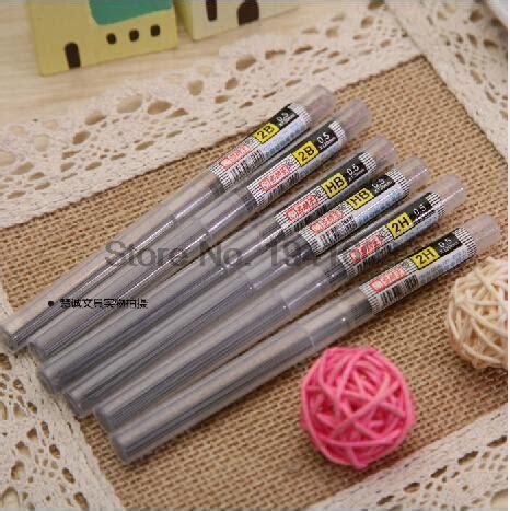 Pen Standard Ae 7 0 5 Mm 20pcs lot 0 5mm 0 7mm mechanical pencil leads hb 2b pencil
