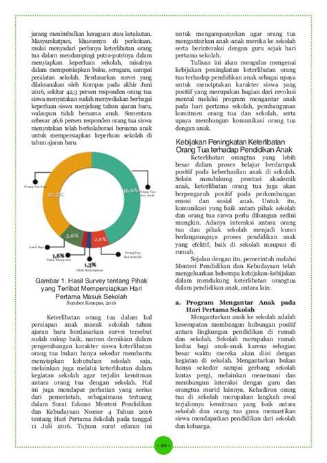 Pembentukan Karakter Siswa Melalui Pembelajaran Penjasorkes Bafirman 13 optimalisasi peran orang tua dalam pengembangan karakter siswa di
