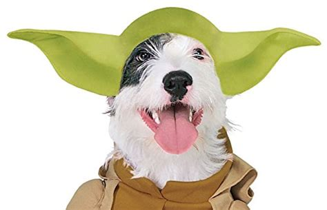 costume with arms rubies costume wars collection pet costume yoda with plush arms x large