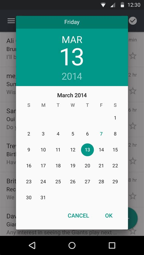 material design calendar html date picker month and year light theme portrait