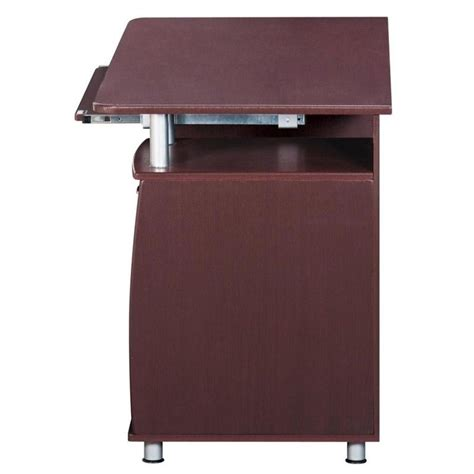 techni mobili computer desk techni mobili chocolate computer desk rta 4985 ch36