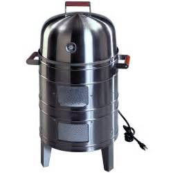 meco electric water smoker stainless steel 5029 bbq guys