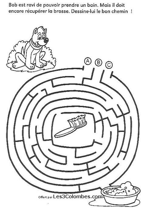 labyrinthe a imprimer 34 - Coloriage en ligne gratuit pour