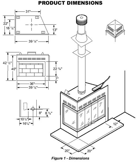 Dimensions Of Fireplace by Corner Fireplace Dimensions Images