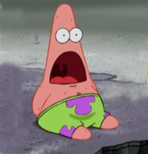 Surprised Meme Face - surprised patrick know your meme