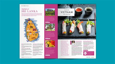 magazine layout design cost travel magazine design and content london cheshire