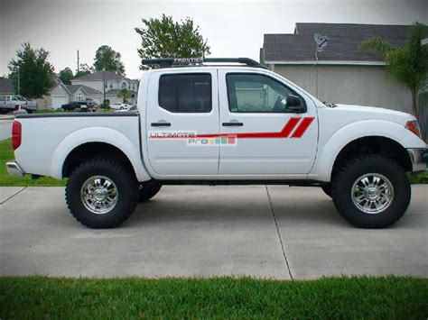 nissan frontier decal decal graphic vinyl side racing stripes compatible with