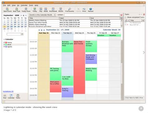 thunderbird template viewing outlook calendar events in thunderbird