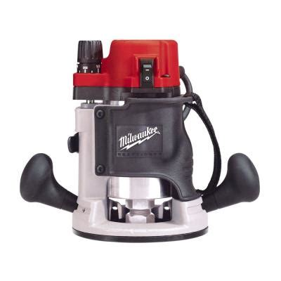 milwaukee 1 3 4 max hp grip router kit 5615 21 the