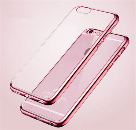 Baseus Shining Clear Soft Apple Iphone 5 5s Se Cover apple iphone 6 6s 6 plus 6s plus dun zacht en